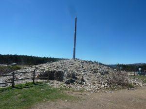 Cruz de Ferro nabij Foncebadón, Camino Francés